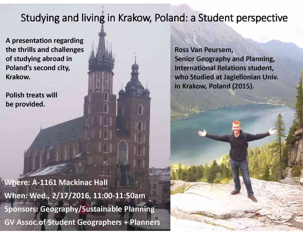 Studying and Living in Krakow